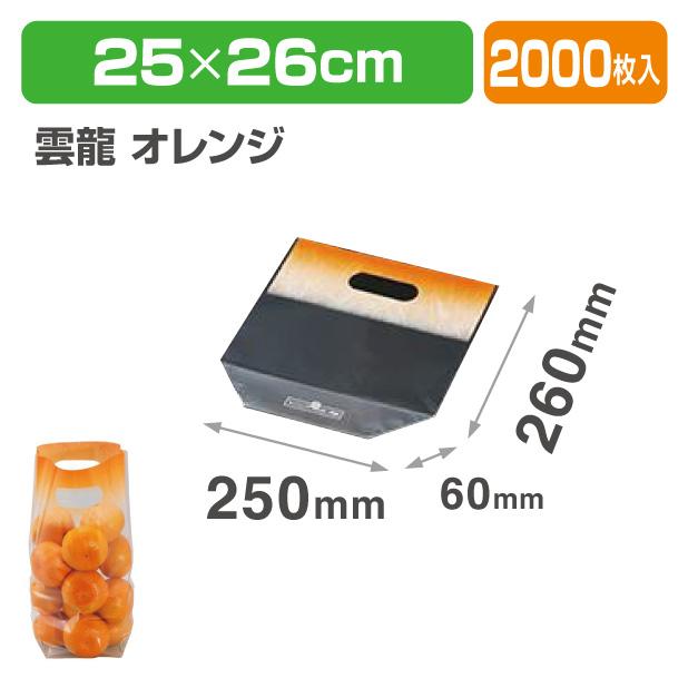サンバッグV2526 雲竜 オレンジ
