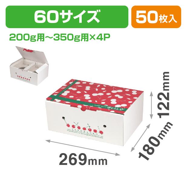 さくらんぼ 2段BOX