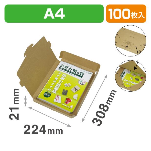 テープエレスメール便BOX A4